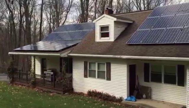 16.5 kW Roof Mount Installation