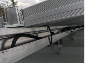 Toughtrac solar panel installation method from Belmont Solar