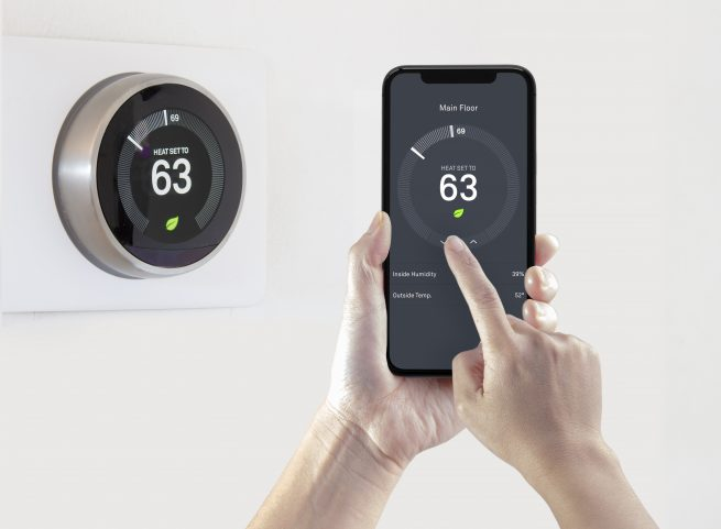 Make your net zero home more efficient with a smart thermostat.