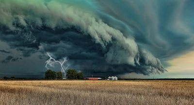 Battery Backup power is security during storms.