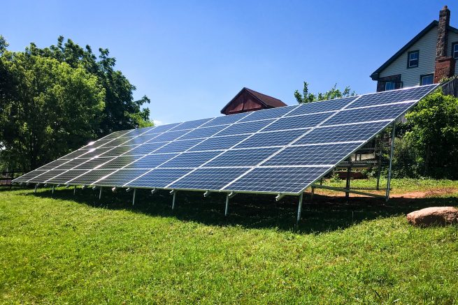 Ground Mounted Solar Installations help promote a cleaner, safer environment.