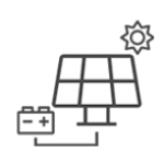 Renewable energy with an off grid solar panel installation from Belmont Solar.