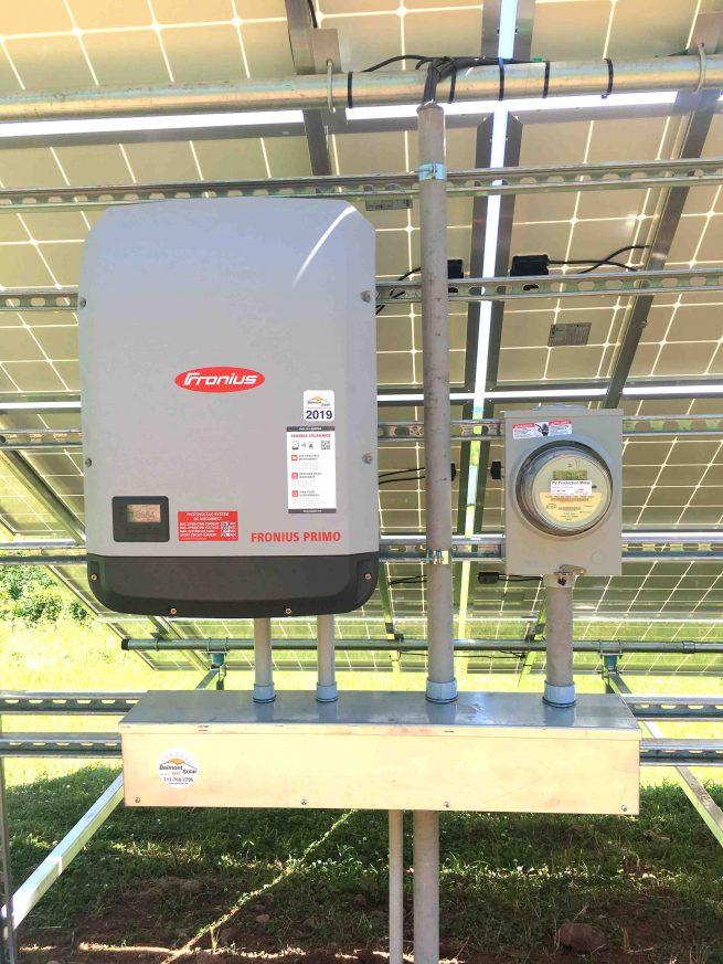 net zero home with grid tie solar