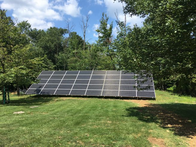 A Net Zero Home with an off grid solar system