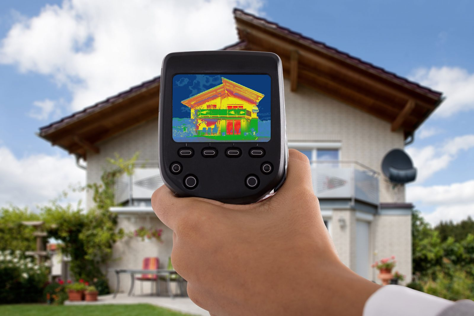 Get a home energy audit done for your net zero home.